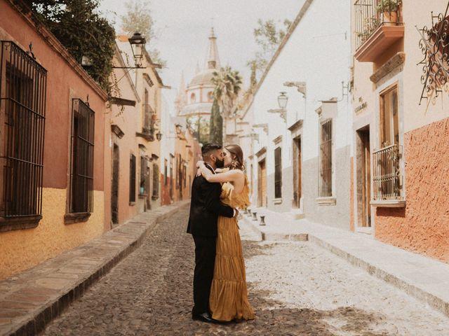 La boda de Hussain y Emma en San Miguel de Allende, Guanajuato 21