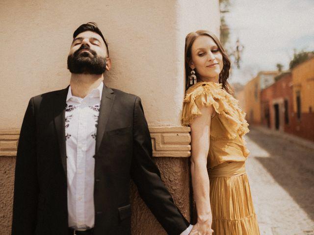 La boda de Hussain y Emma en San Miguel de Allende, Guanajuato 28