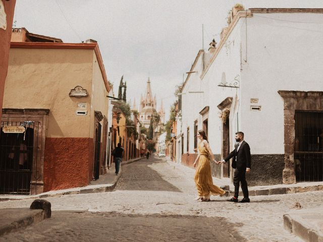 La boda de Hussain y Emma en San Miguel de Allende, Guanajuato 29