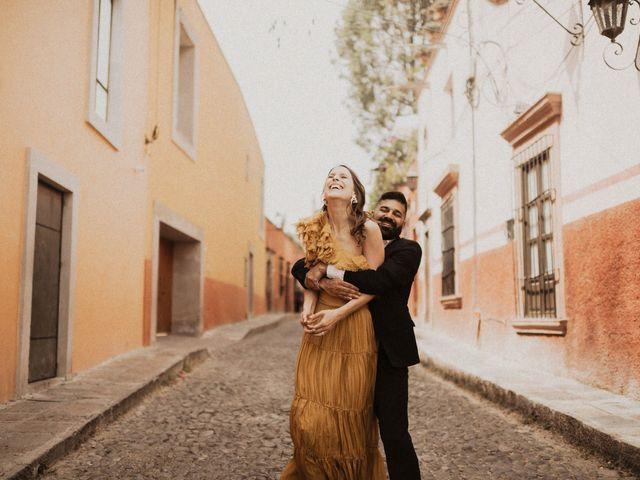 La boda de Hussain y Emma en San Miguel de Allende, Guanajuato 30