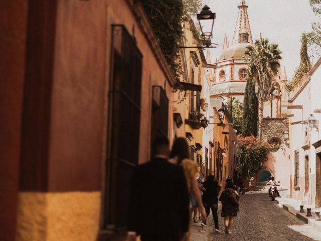 La boda de Hussain y Emma en San Miguel de Allende, Guanajuato 35
