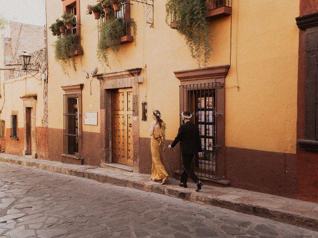 La boda de Hussain y Emma en San Miguel de Allende, Guanajuato 65