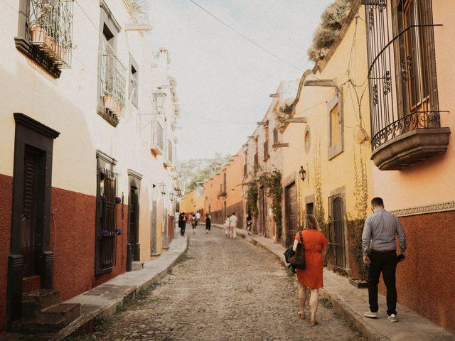 La boda de Hussain y Emma en San Miguel de Allende, Guanajuato 70