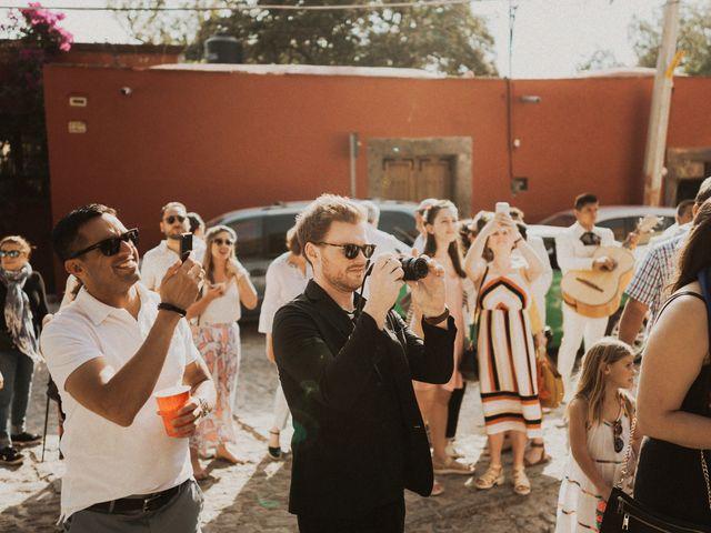 La boda de Hussain y Emma en San Miguel de Allende, Guanajuato 72
