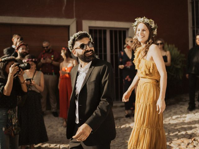 La boda de Hussain y Emma en San Miguel de Allende, Guanajuato 74