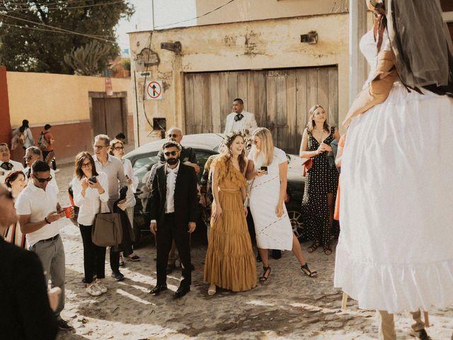 La boda de Hussain y Emma en San Miguel de Allende, Guanajuato 77