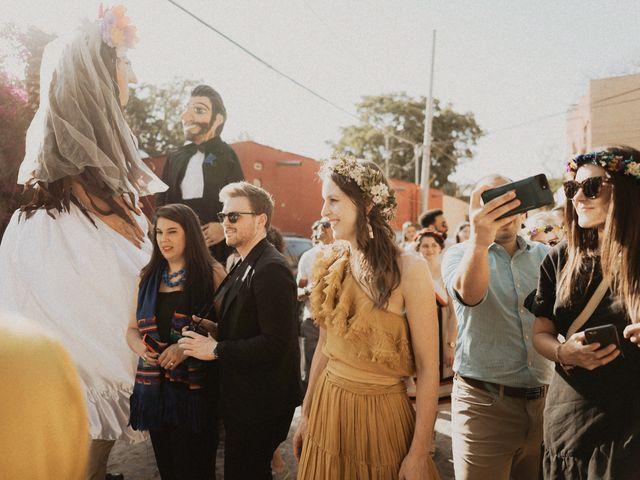 La boda de Hussain y Emma en San Miguel de Allende, Guanajuato 79