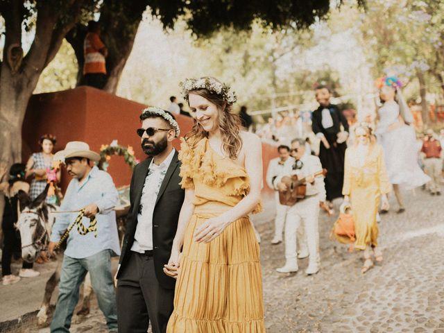 La boda de Hussain y Emma en San Miguel de Allende, Guanajuato 80