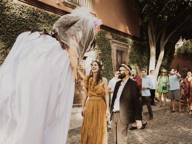 La boda de Hussain y Emma en San Miguel de Allende, Guanajuato 82