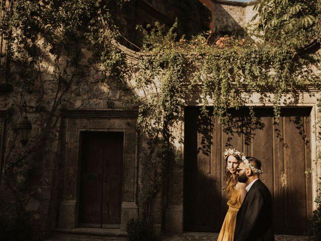 La boda de Hussain y Emma en San Miguel de Allende, Guanajuato 84