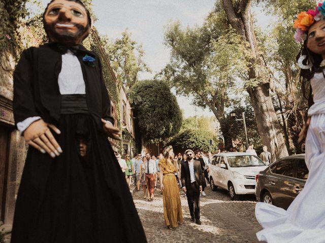 La boda de Hussain y Emma en San Miguel de Allende, Guanajuato 85