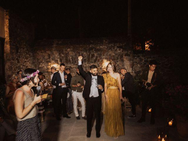 La boda de Hussain y Emma en San Miguel de Allende, Guanajuato 119