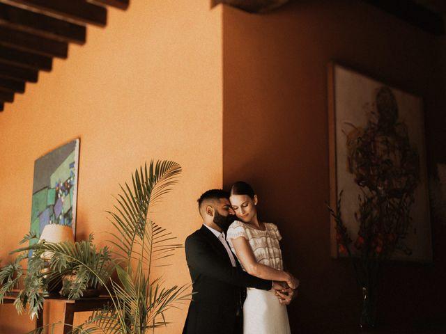 La boda de Emma y Hussain