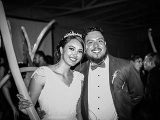 La boda de Geraldine y César Omar