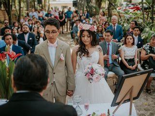 La boda de Abi y Aldo