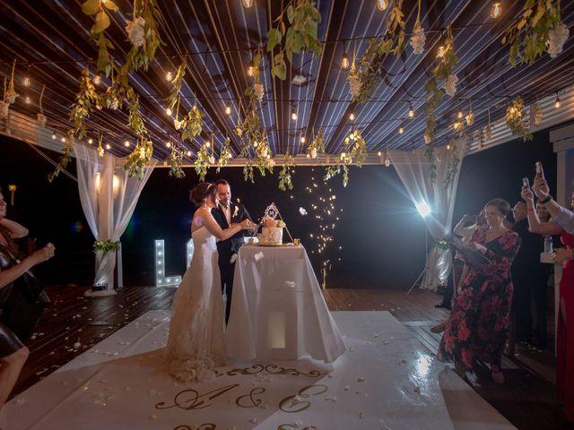 La boda de Alejandro y Elena en Cancún, Quintana Roo 45