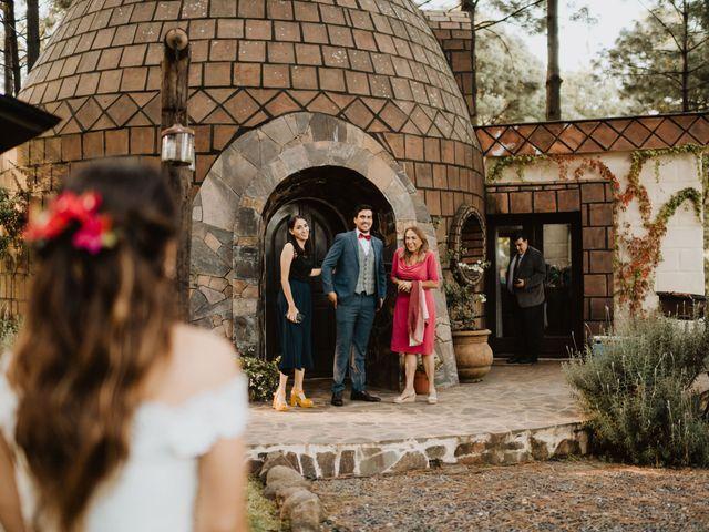 La boda de Óscar y Elena en La Manzanilla de La Paz, Jalisco 18
