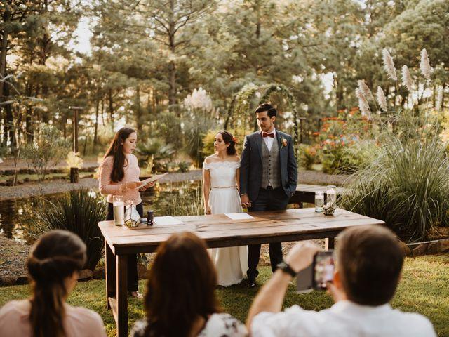 La boda de Óscar y Elena en La Manzanilla de La Paz, Jalisco 26