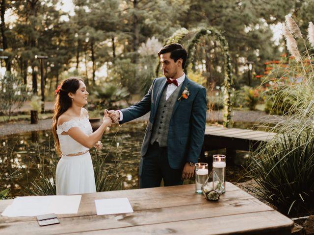 La boda de Óscar y Elena en La Manzanilla de La Paz, Jalisco 32
