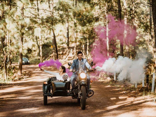 La boda de Óscar y Elena en La Manzanilla de La Paz, Jalisco 110