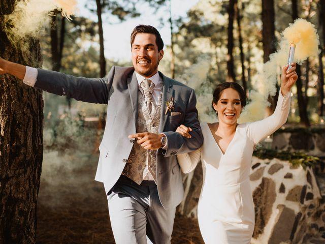 La boda de Óscar y Elena en La Manzanilla de La Paz, Jalisco 130