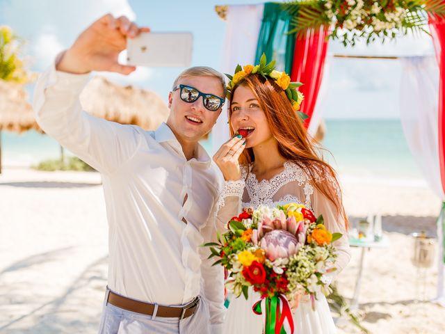 La boda de Alena y Roman