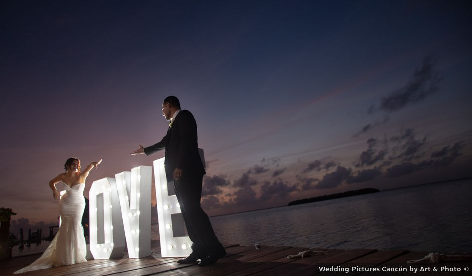 La boda de Alejandro y Elena en Cancún, Quintana Roo