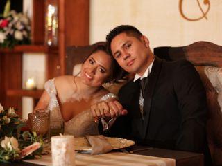 La boda de Gladys y Leopoldo