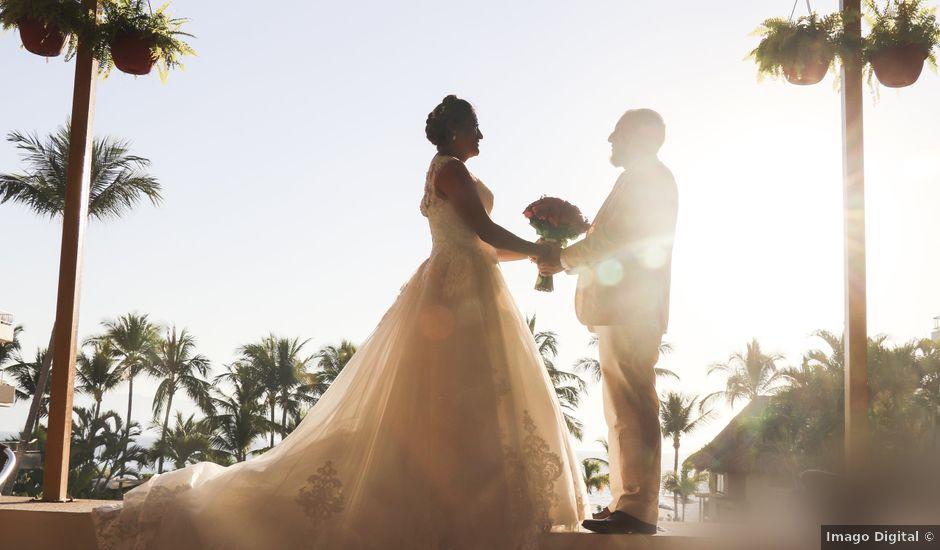 La boda de Gerardo y Elizabeth en Puerto Vallarta, Jalisco
