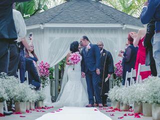 La boda de Vivenie y Richard