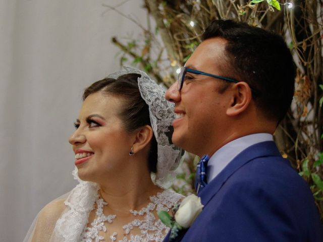 La boda de Odali  y Manuel