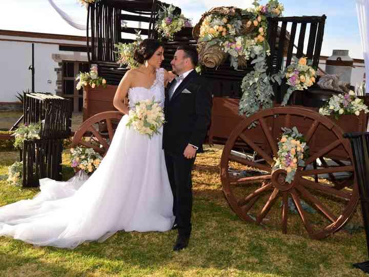 La boda de Andrea y Julio