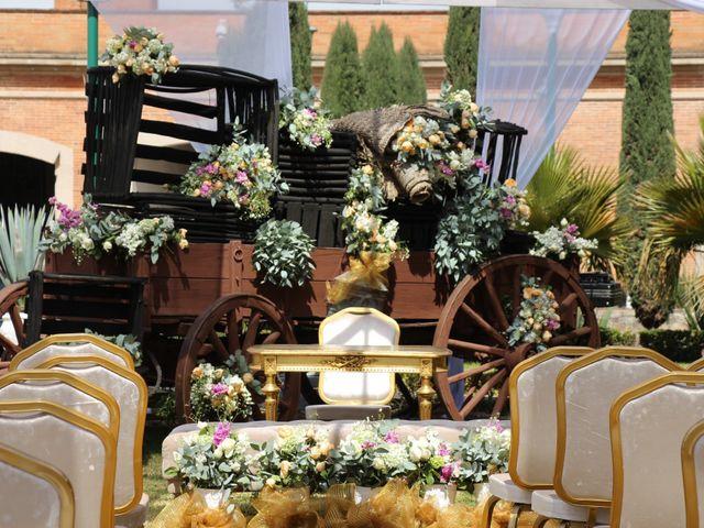 La boda de Julio y Andrea en Apan, Hidalgo 5