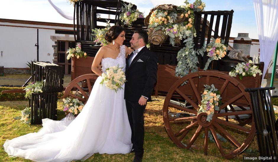 La boda de Julio y Andrea en Apan, Hidalgo
