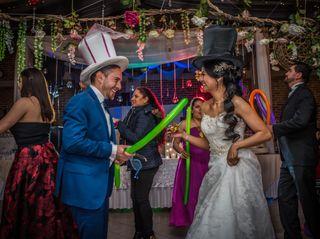 La boda de Cynthia y Misael