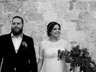 La boda de Mariana y Claudio