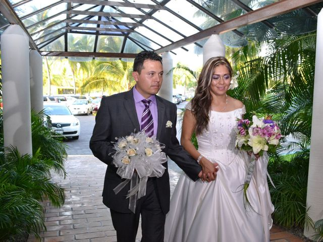 La boda de Andrea y Misael