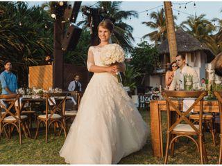 La boda de Uliana y César 3
