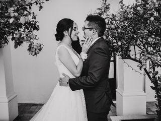 La boda de Eleazar  y Andrea
