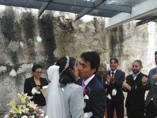 La boda de Lluviely y Ormuz 2