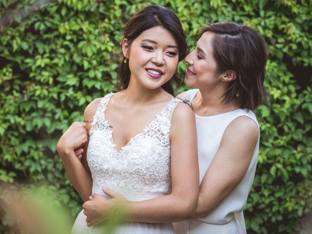 La boda de Cristina y Maru