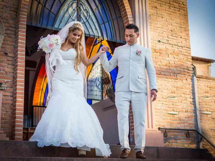 La boda de Maggie y Christian
