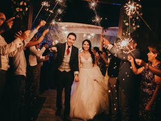 La boda de Liz y Abraham