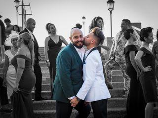 La boda de Eric y Xavier