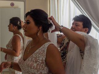 La boda de Narubi  y Diego  1