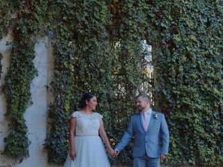 La boda de Marcela y John