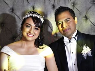 La boda de Guadalupe y René