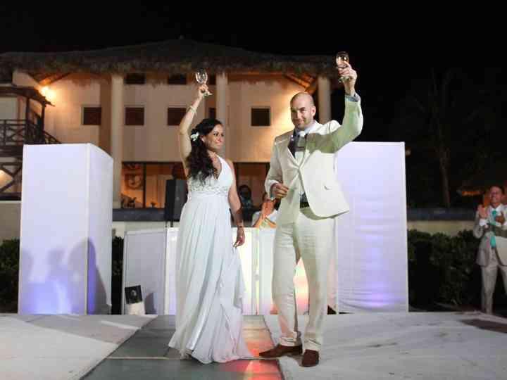 La boda de Adriana y Kevin