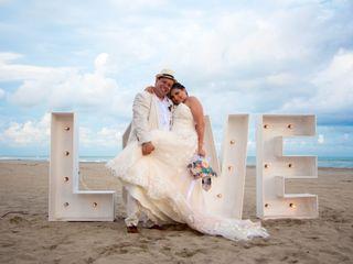 La boda de Lestly y Nestor