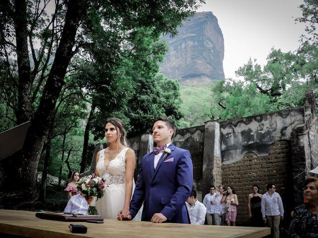 La boda de Lalo y Bárbara en Tepoztlán, Morelos 22